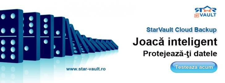 (P) Protejează-ți datele cu StarVault Cloud Backup! Testează serviciul GRATUIT 30 de zile!
