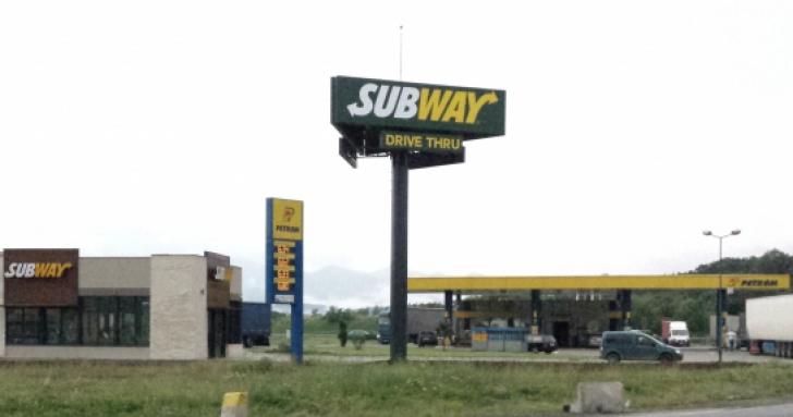 Benzinărie Petrom cu restaurant Subway