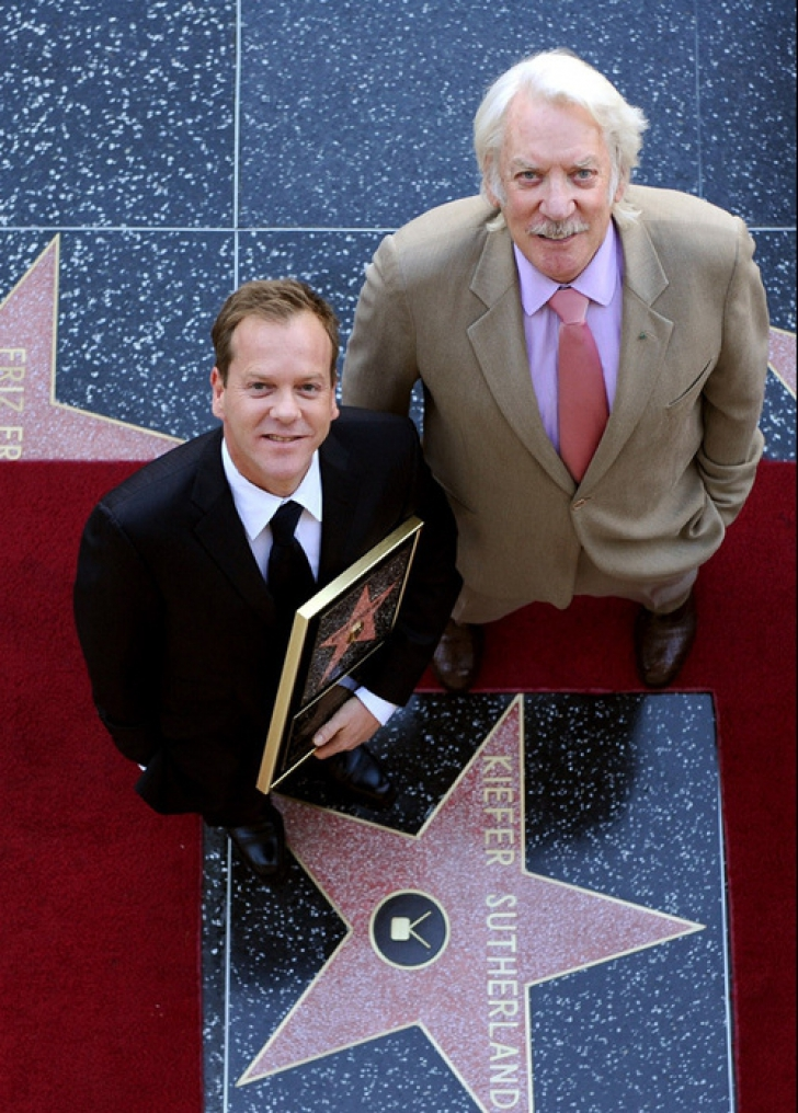 Donald Sutherland şi Kiefer Sutherland
