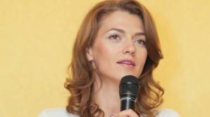 Alina Gorghiu a fost desemnată purtător de cuvânt al PNL