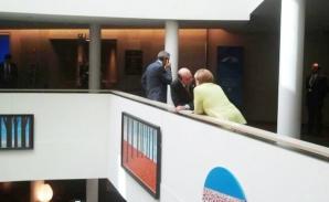 Traian Băsescu şi Angela Merkel