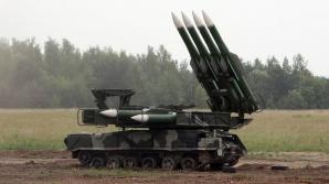Un sistem de rachete sol-aer Buk