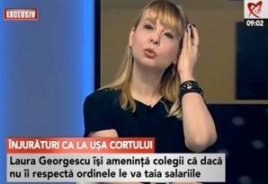 Mariana Popa, angajata CNA, despre şicanele la care a fost supusă. Foto: captură