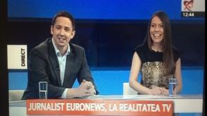 Jurnalist englez, despre românii din Marea Britanie. Cu James Franey și Carmen Constantin