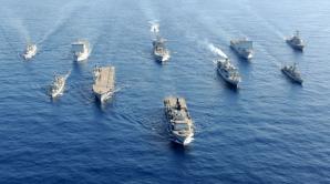 EXERCIŢIU MILITAR în Marea Neagră