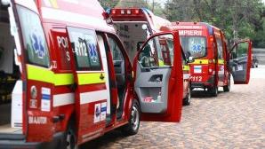 Ambulanţe la IGSU