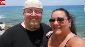 Robert şi Jessica, înainte şi după cura de slăbire