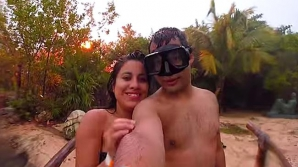Ce-a păţit cuplul când a vrut să facă o poză romantică