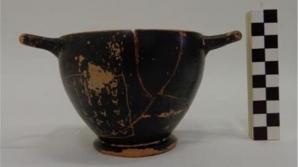 Arheologii au descoperit o cupă de vin care i-ar fi aparținut lui Pericle
