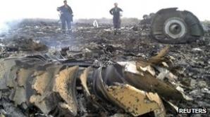 Avion prăbuşit în Ucraina