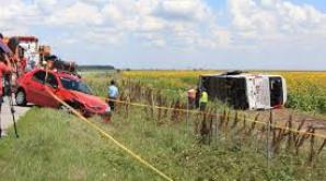 29 de persoane au fost transportate la patru spitale din Capitală