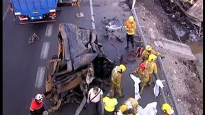 Accident Spania: 8 români au murit