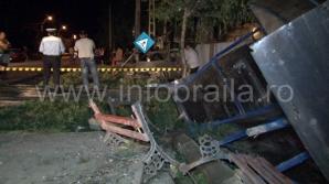 Şoferul care a produs accidentul este fotbalist