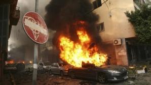 Noi RAIDURI israeliene în Fâşia Gaza: Cel puţin 7 morţi. Peste 300 de ţinte, vizate de Israel