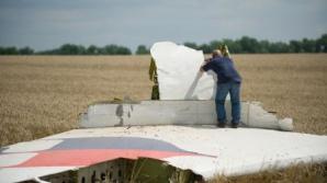 Avion doborât în Ucraina.