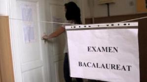 A susţinut examenul de BAC în spital