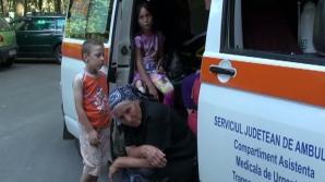 14 persoane, între care opt copii, au ajuns la spital cu toxiinfecţie alimentară