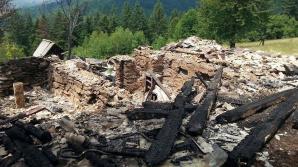 Casa celebrei eroine a lui Agârbiceanu a ars în întregime.