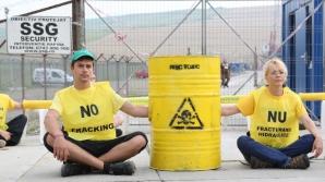 Protest Greenpeace la Pungeşti