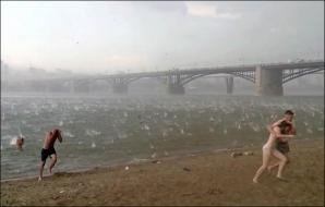 Fenomen înspăimântător în Siberia