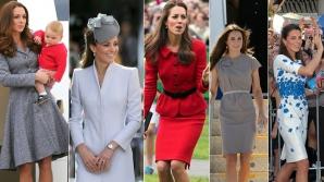 Ducesa de Cambridge se îmbracă cu ținute fabricate la Arad