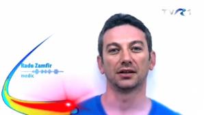 Medicul Radu Zamfir face reclamă la Jurnalul TVR
