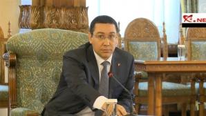 Victor Ponta la Cotroceni