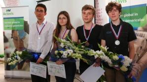 Maria Andreea Filip, medaliată cu aur la Olimpiada de Chimie va învăţa la Cambridge