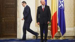 Victor Ponta şi Traian Băsescu