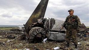 Avionul doborât în Ucraina
