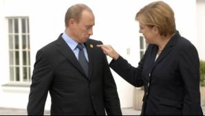 Un scenariu vorbeşte de o înţelegere Putin-Merkel