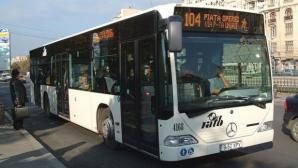 POLIŢISTĂ ÎNJUNGHIATĂ în autobuzul 104 din Capitală