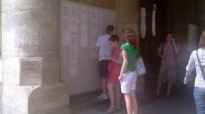 S-au afişat rezultatele la UMF Cluj.