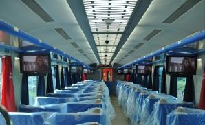 Cupa mondială din Brazilia cu trenuri româneşti: vagoane ASTRA, dotate de UTI