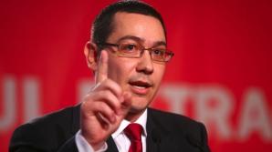 Victor Ponta, în excursii electrorale prin ţară
