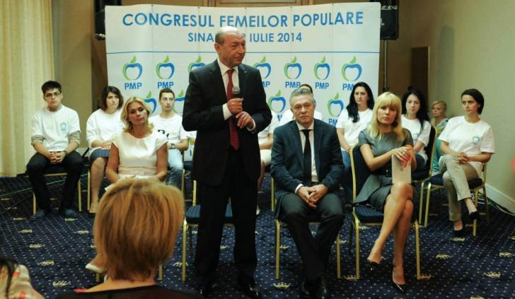 Băsescu, femeilor din PMP: Cât veţi depinde material de bărbaţi, vă vor spune pe cine să alegeţi / Foto: Facebook.com