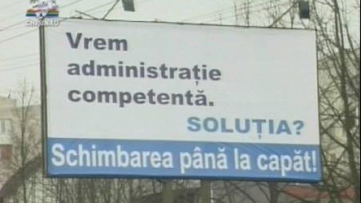 """""""VICTOR PONTA a plagiat sloganul de campanie al lui Dorin Chirtoacă"""""""