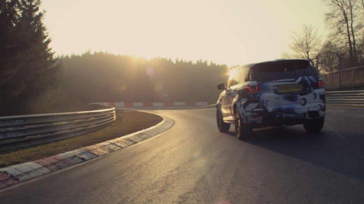 Cel mai rapid SUV din lume pe Nurburgring