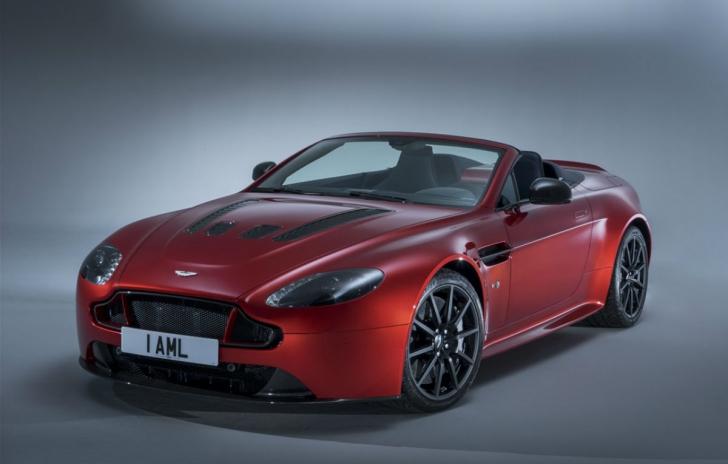 Aston Martin V12 Vantage S Roadster: Cum arată cel mai rapid model Vantage din istorie
