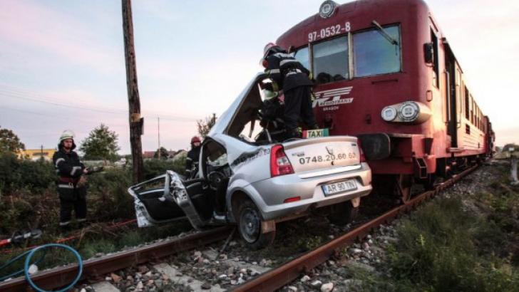 Accident cumplit în apropiere de Timişoara.