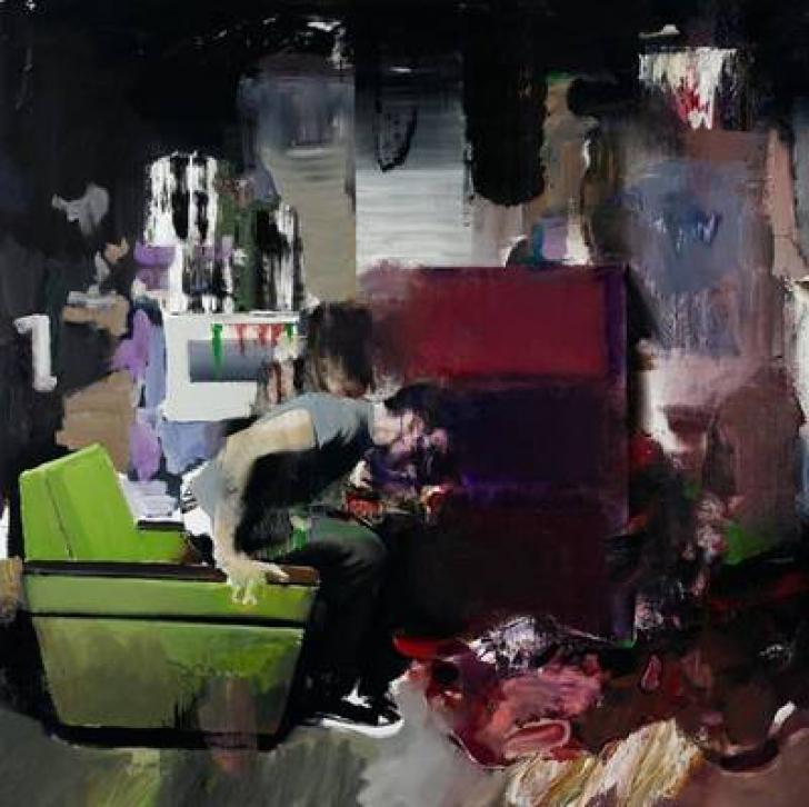 Adrian Ghenie:The Fake Rothko