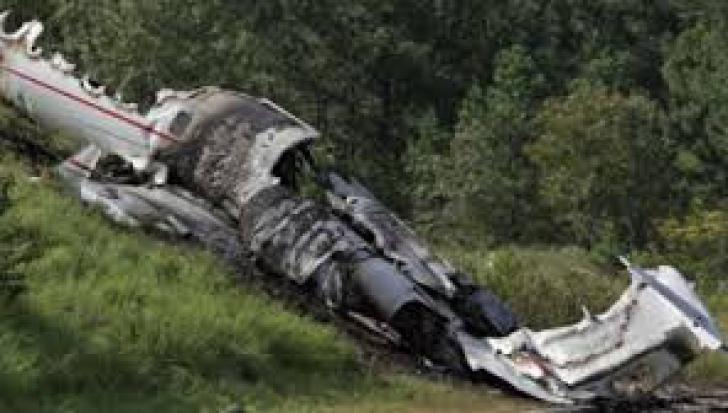 Un avion rusesc s-a prăbuşit