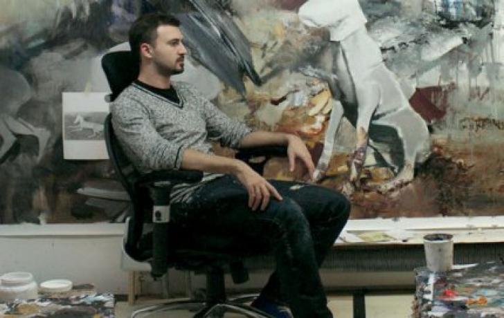 Pictorul român născut în 1977 la Baia Mare