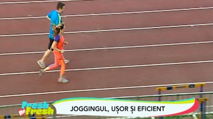 Jogging-ul, uşor şi eficient