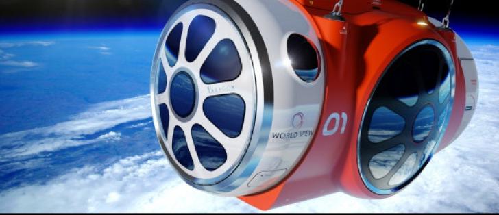 Un veritabil montgolfier spațial pus la punct de compania World View este pe punctul de a-i permite 'oricui' - sau aproape oricui - să călătorească în spațiu din 2016
