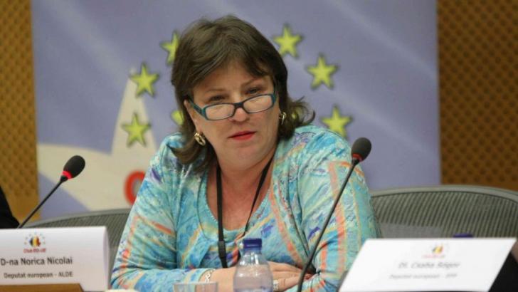 Norica Nicolai, după înscrierea în ALDE: Voi rămâne liberală orice s-ar întâmpla