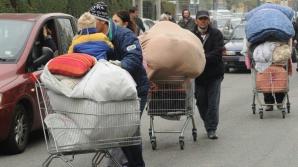 Aproximativ 30 de români, evacuaţi din tabere de romi, la periferia oraşului Milano
