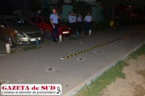 Bărbat împuşcat, în Craiova