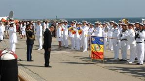 Un monument în cinstea eroilor din Marina Română a fost dezvelit în parcul Herăstrău