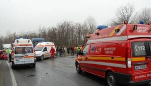 Încă un accident pe drumul blestemat din Transilvania